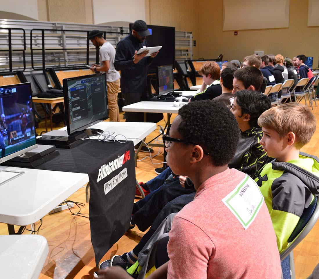championship eSports game